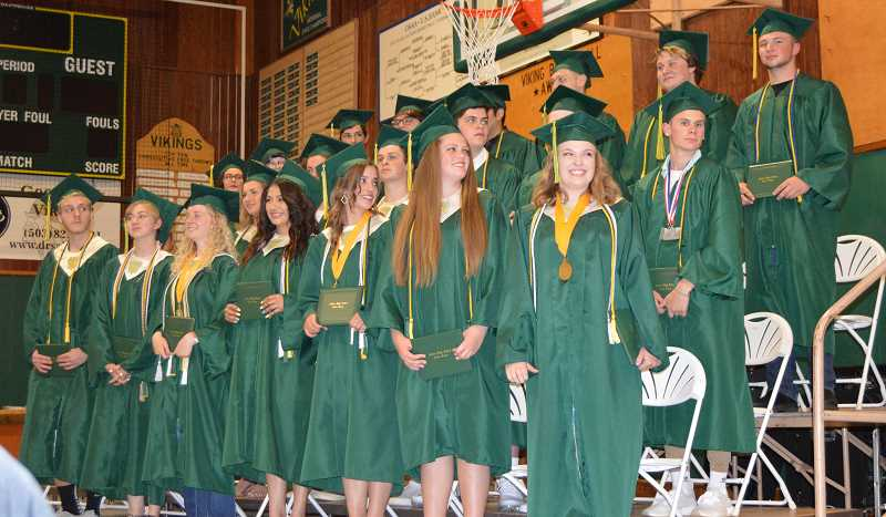 PAMPLIN FILE PHOTO: CINDY FAMA - Colton High School's 2018 graduates.