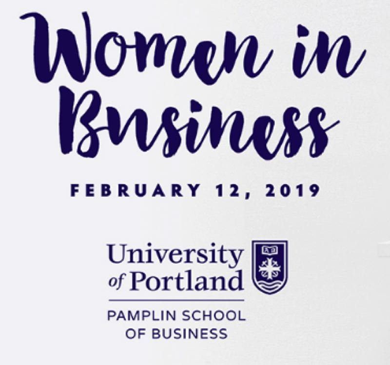 University of Portland's Pamplin School of Business Women in Business Showcase
