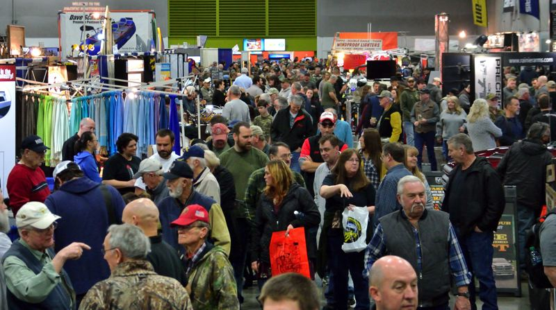 COURTESY: PACIFIC NORTHWEST SPORTSMEN'S SHOW - Organizers say the Pacific Northwest Sportsmen's Show is the biggest such show west of the Mississippi River.