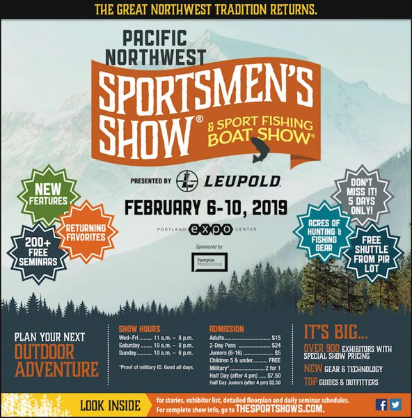 (Image is Clickable Link) 2019 Pacific Northwest Sportsmen's Show