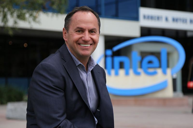 COURTESY: INTEL CORP. - Intel announced it has promoted its interim CEO Bob Swan, 58, to permanent CEO on January 31 2019.
