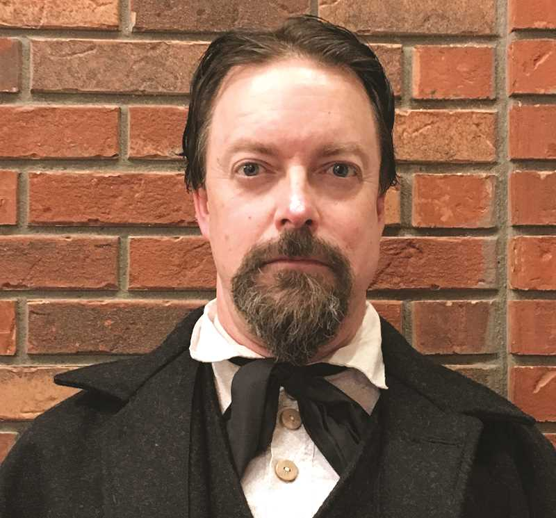 SUBMITTED PHOTO - Reenactor Matt Cleman, of Sisters, will portray Prineville founder Barney Prine each Tuesday in February as part of the People of Our Past series at the Bowman Museum.