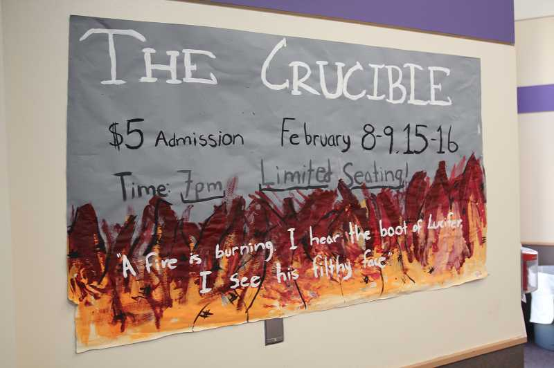WOODBURN INDEPENDENT: JUSTIN MUCH - Woodburn High School Theatre has been rehearsing for 'The Crucible' since the first of December.