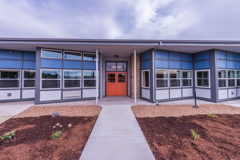 COURTESTY: MIGUEL EDWARDS - A former elementary school building in Prineville has been turned into affordable housing for low-income families.