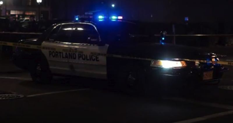 FILE PHOTO VIA KOIN 6 NEWS - A Portland Police Bureau patrol car at a local crime scene.