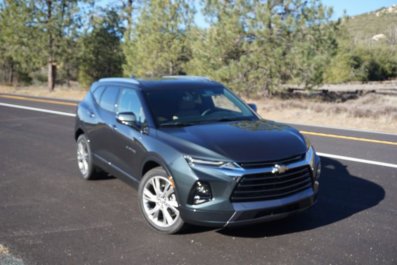 PORTLAND TRIBUNE: JEFF ZURSCHMEIDE - Chevy has relaunched the Blazer to compete in the popular mid-size crossover SUV market. With two rows of seats, it has plenty of room for all five riders.