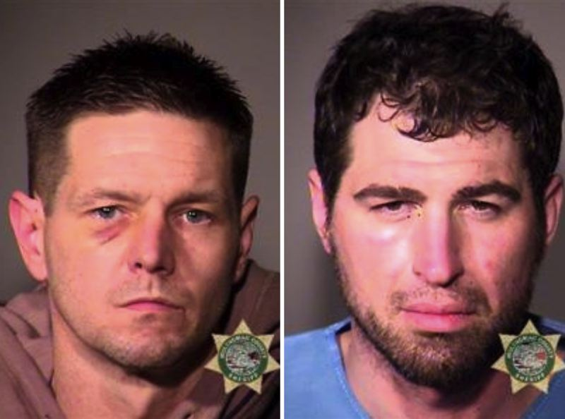 MCSO PHOTOS - FROM LEFT: Christopher Landaker and Nathan Perkins