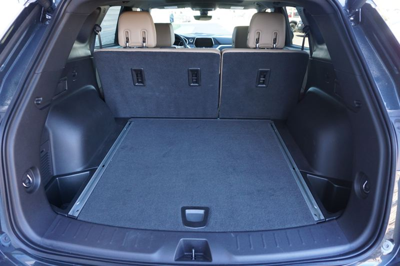 PORTLAND TRIBUNE: JEFF ZURSCHMEIDE - There's a good amount of cargo space under the hatch of the new Chevy Blazer.