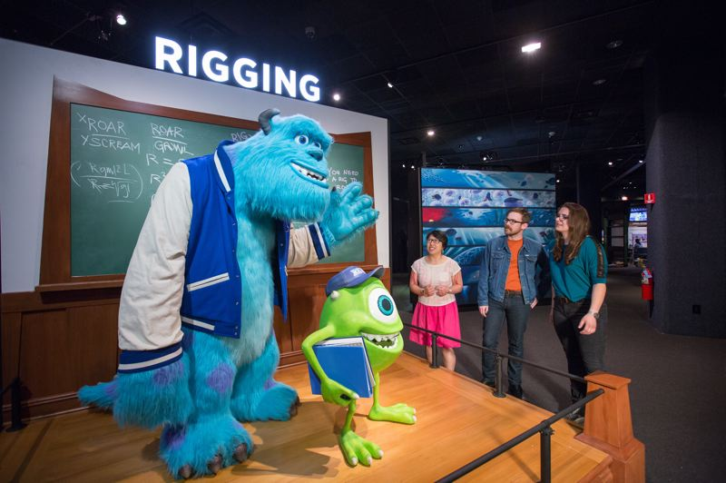 COURTESY: OMSI - The 'The Science Behind Pixar' will be exhibited at Oregon Museum of Science and Industry, starting Feb. 23.