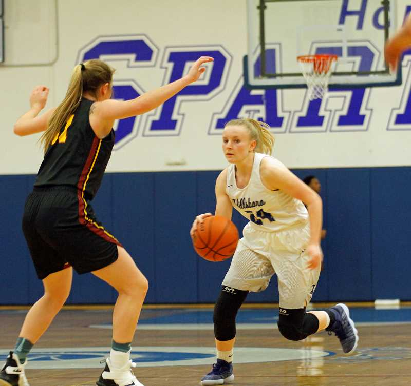 PMG FILE PHOTO - Hillsboro's Kylie Fernstrom in a game earlier this season.
