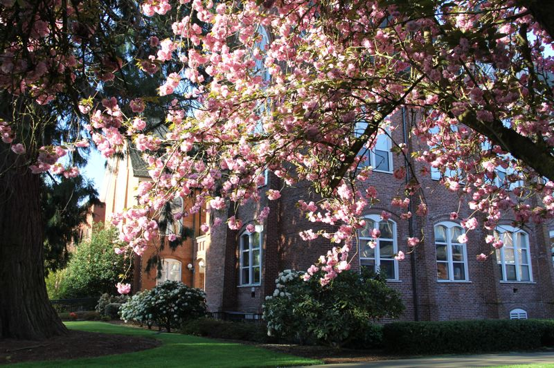 CONTRIBUTED PHOTO: WESTERN OREGON UNIVERSITY - Some schools are using part of the Measure 98 money for field trips to nearby colleges like Western Oregon University so students can get a first-hand feel for college.