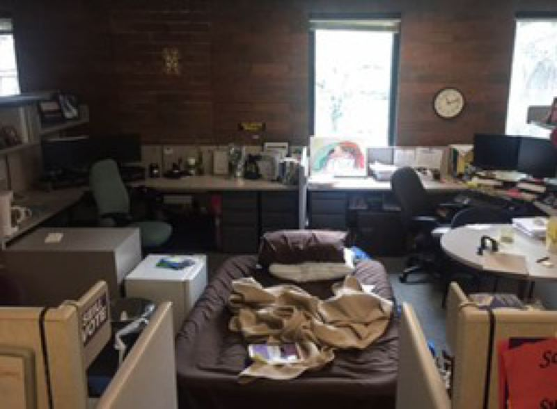 OREGON PUBLIC BRODCASTING - The transfers are meant to reduce children sleeping in hotels and offices like this one, but at what cost?
