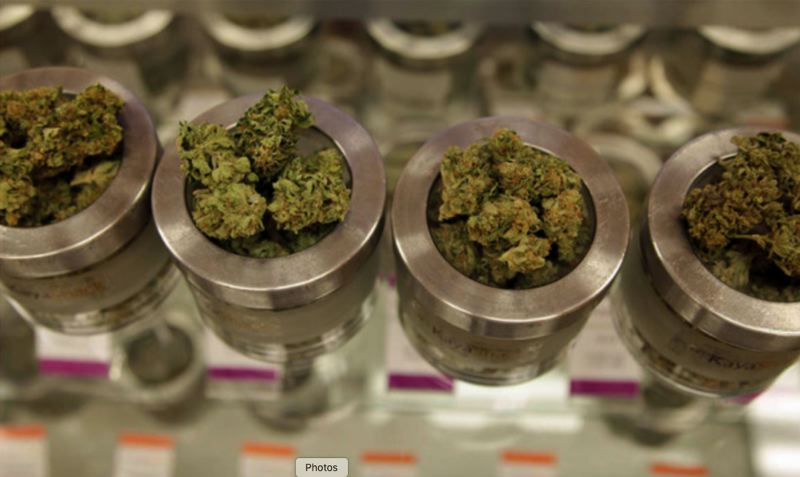 KOIN 6 NEWS IMAGE - Recreational marijuana is shown here for sale at a local dispensary.