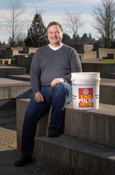 SPOKESMAN PHOTO: JONATHAN HOUSE - Wilsonville First Citizen of the Year nominee Curt Kipp.