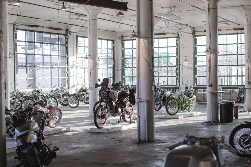 COURTESY PHOTO - The Pickle Factory building on North Columbia Boulevard has been home to The One Moto Show.