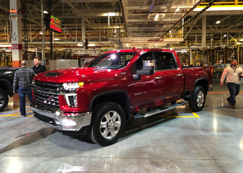 PORTLAND TRIBUNE: JEFF ZURSCHMEIDE - The 2020 Chevrolet Silverado HD will be the biggest and most powerful one yet.