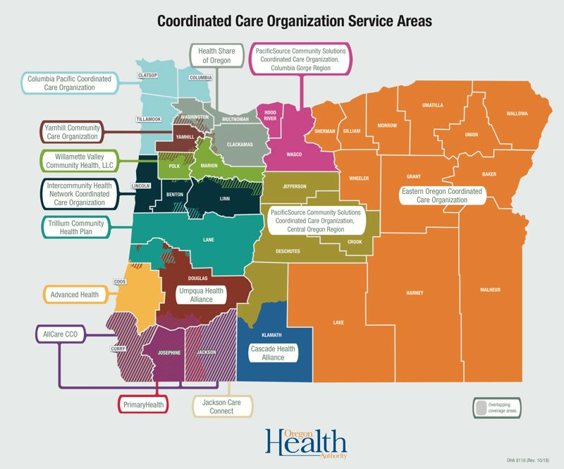 OREGON HEALTH AUTHORITY - Currently 15 firms serve low-income members of the Oregon Health Plan as 'coordinated care organizations,' which function like insurance companies using state and federal funds. Most are seeking to keep the job and several additional firms have submitted pre-application letters of intent for a new round of five-year contracts.