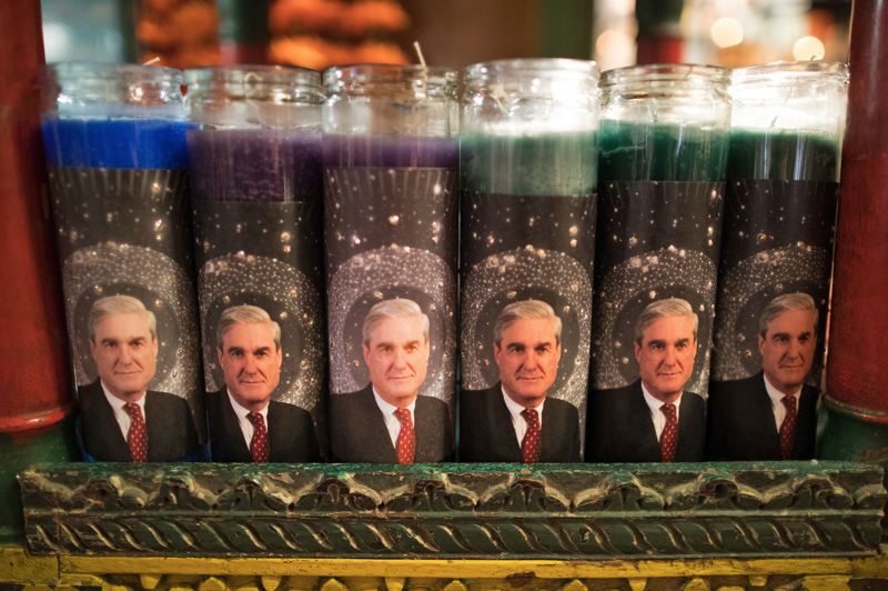 TRIBUNE PHOTO: JAIME VALDEZ - Bridgid Blackburn of the Portland store Cargo says she'll happily trade her Mueller candle revenue for a full airing of the truth about the wide-ranging investigation.