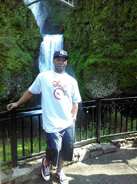 COURTESY PHOTO - Alonzo Gregg, 34, was shot nine times outside the Hillsboro Police Department in 2015.