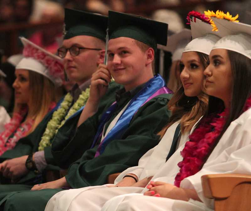 WOODBURN INDEPENDENT FILE PHOTO - North Marion High School uses its comparatively small size to its advantage when it comes to focusing on gearing students to become graduates.