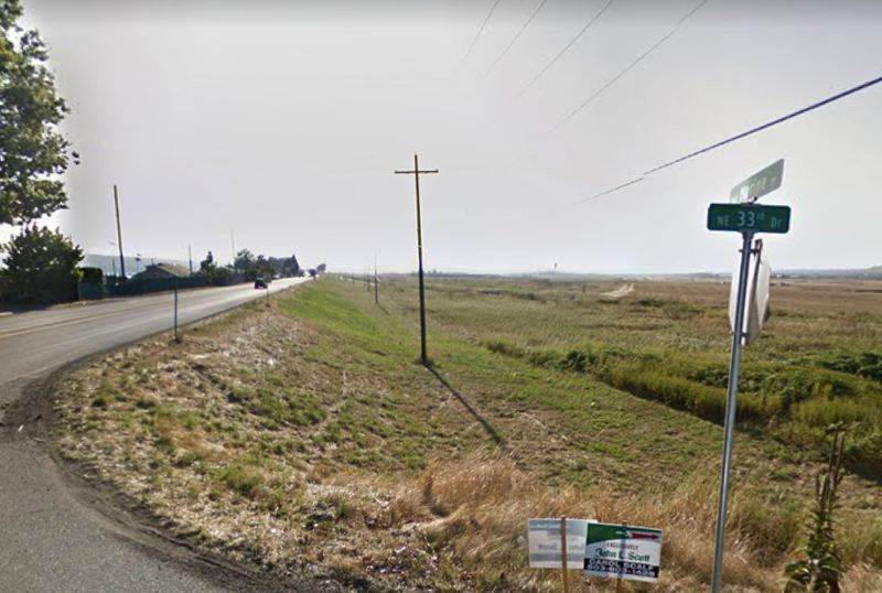 VIA GOOGLE MAPS - Marine Drive near Northeast 33rd Drive is shown here in Portland.
