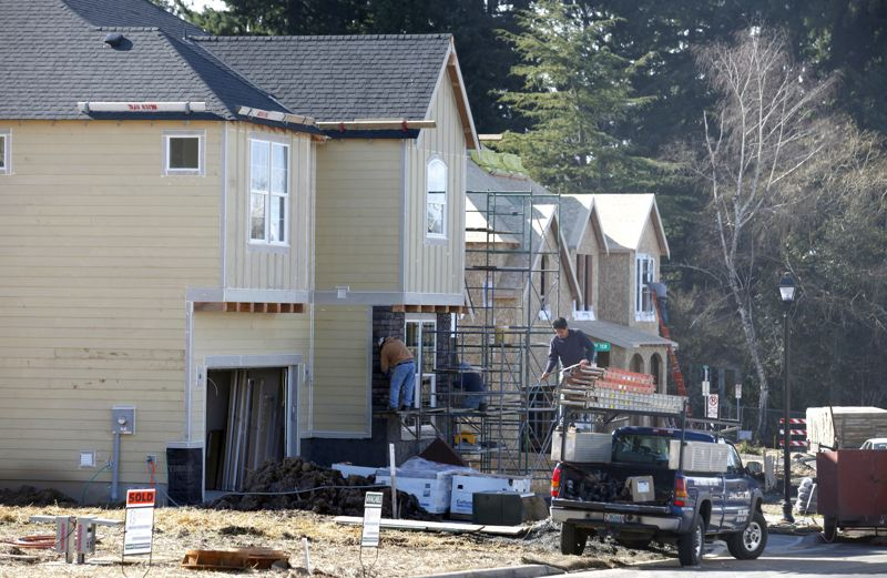 PAMPLIN MEDIA GROUP FILE PHOTO - Legislators are working on bills to tackle the state's housing crisis. One bill would allow all kinds of housing to be built in former single-family land-use zones.