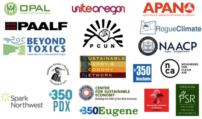 COURTESY PHOTO - A number of local enviromental and social advocacy groups have signed on in support of Oregon's Green New Deal.