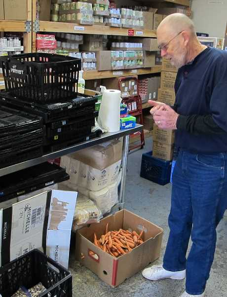 Donations of fresh food are always accepted but not always given out.  What produce isn't, is composted.