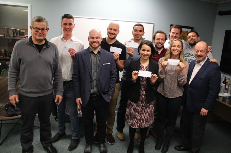 COURTESY: OREGON TECHNOLOGY BUSINESS CENTER - ToolBelt was one of five startups selected as winners of the 2019 Beaverton Startup Challenge.