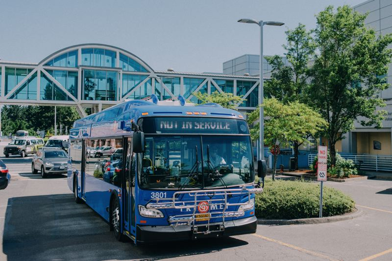 COURTESY: TRIMET - TriMet has committed to replacing its diesel-powered buses with a clean-energy fleet by or before 2040.