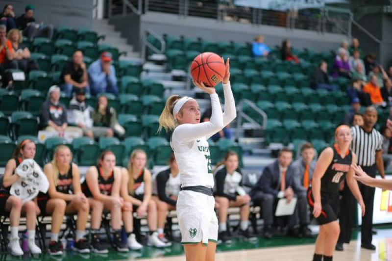 COURTESY: PORTLAND STATE UNIVERSITY - Sophomore point guard Kylie Jimenez has provided outside shooting and more for a Portland State womens basketball team aiming for a Big Sky title.