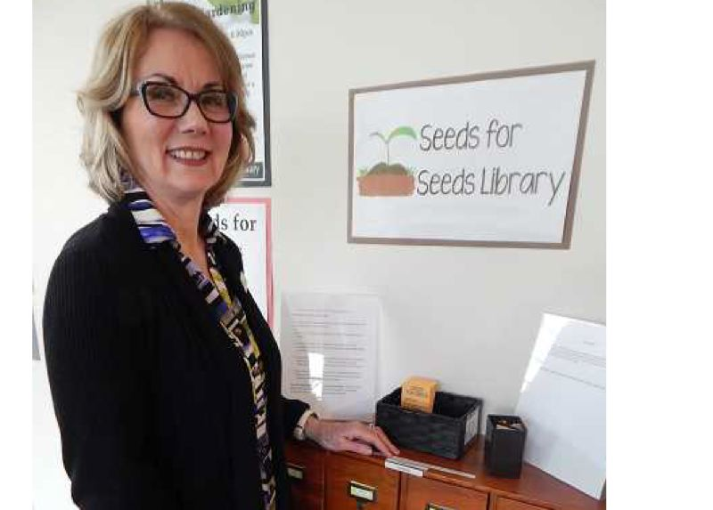2016 FILE PHOTO BY CLIFF NEWELL - Bobbie Kelly, library assistant at the West Linn Public Library, started the program on the west side of Clackamas County.
