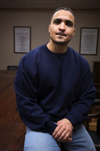 PMG PHOTO: JAIME VALDEZ - When Jonathan Boland was no longer able to play football, he looked for something to replace that rush. His search landed him in prison.