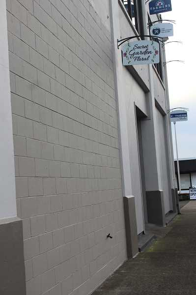 KRISTEN WOHLERS - Secret Garden Floral's storefront, now closed, was located on NW 2nd Ave. in downtown Canby.