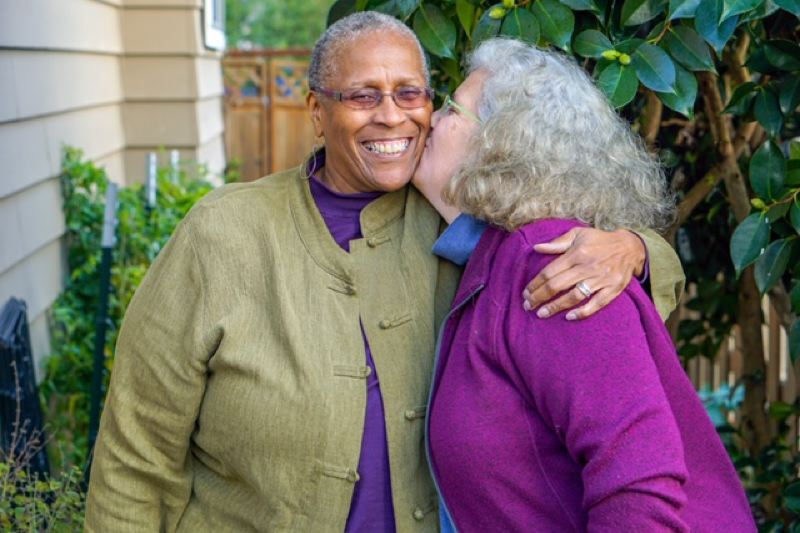 COURTESY PHOTO - The 'How We Met' Valentine's Day storytelling event includes Cynthia Butts and Ellen Yarnell.