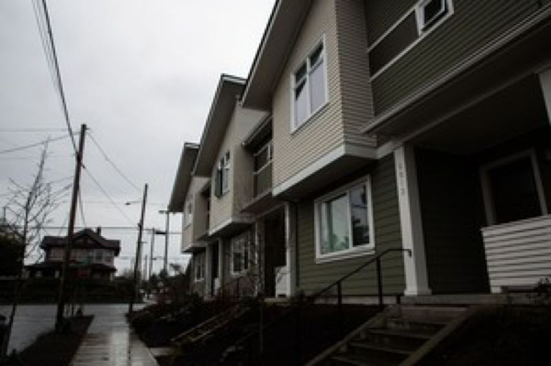 COURTESY OPB - The kind of triplex that coukld be built in single-family neighborhoods.