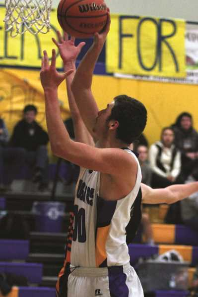 PHIL HAWKINS - Gervais sophomore Auggie Guido was one of the team's most productive offensive players, averaging close to seven points and seven rebounds per game this year.