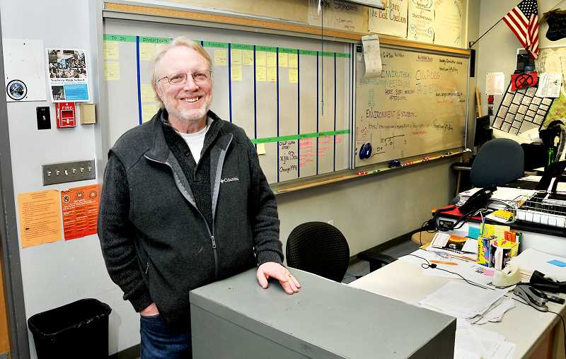 GARY ALLEN - Peter Siderius has been nominated by students at Newberg High School to be the 2020 Teacher of the Year.