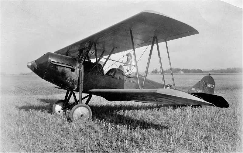 COURTESY PHOTO: WASHINGTON COUNTY MUSEUM - Dr. Elmer Smith was the first person to own an airplane in Washington County and owned the land that is now present day Hillsboro Airport.