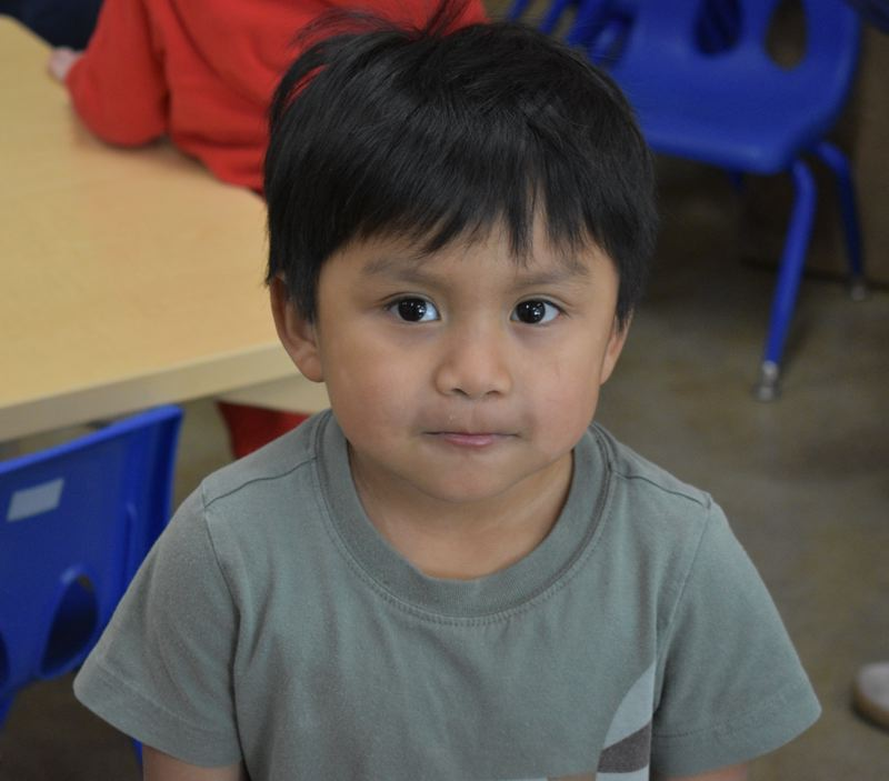 STAFF  PHOTO: TERESA CARSON - This adorable little guy is just one of the more than 30 million children Head Start has served since it was founded in 1965.