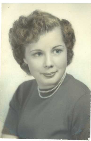 SUBMITTED PHOTO - Phyllis Ann Kraxberger Adams