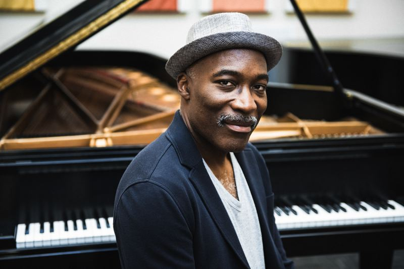 COURTESY: THOMAS TEAL - Darrell Grant stays busy, being a music educator, performer and composer, and he'll be feted as Portland Jazz Master at the Portland Jazz Festival. He'll perform Feb. 28 at Revolution Hall. 'I'm so lucky to have these opportunities, I have to take advantage of them,' he says.