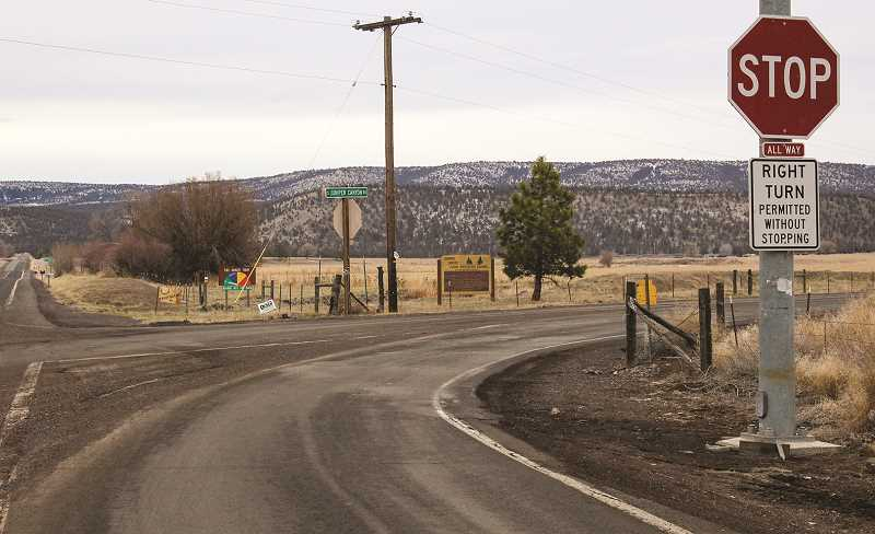 CENTRAL OREGONIAN - Currently, only one improved road leads into and out of Juniper Canyon.