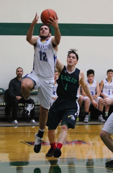 PAMPLIN MEDIA: JIM BESEDA - NCC's Jake Van Lieu (12) scored eight of his game-high 17 points in the fourth quarter Thursday.