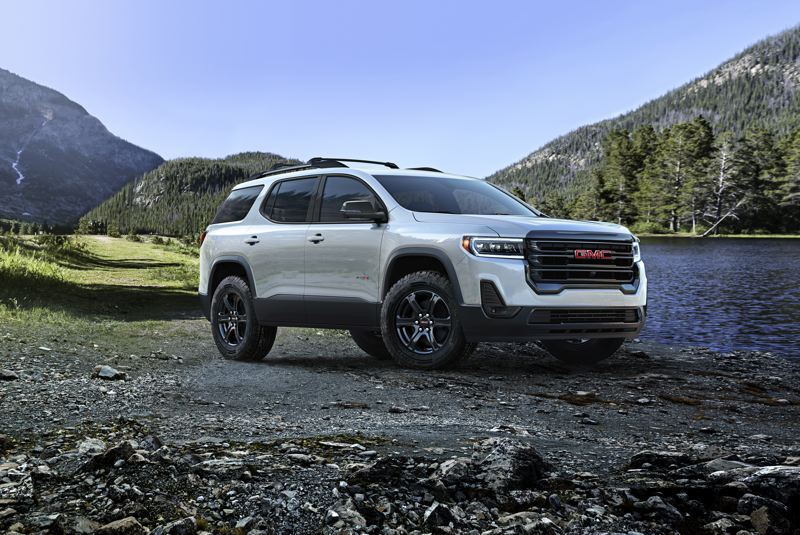 COURTESY GMC - The upgrades to the 2020 Arcadia reinforce GMC's brand as General Motor's upscale truck and SUV manufacturer.