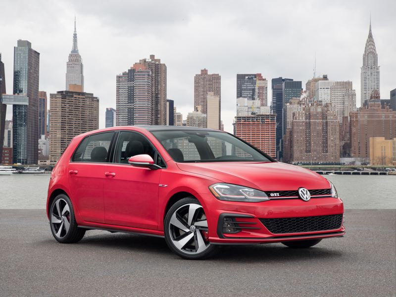 VOLKSWAGE NORTH AMERICA - The 2019 VW Golf GTI is affordable, practical, and a heck of a lot of fun to drive.