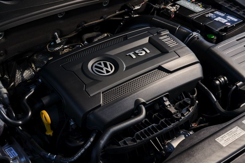 VOLKSWAGEN NORTH AMERICA - The secret of the success of the 2019 Golf GTI is the turbocharged 2.0-liter engine under the hood.