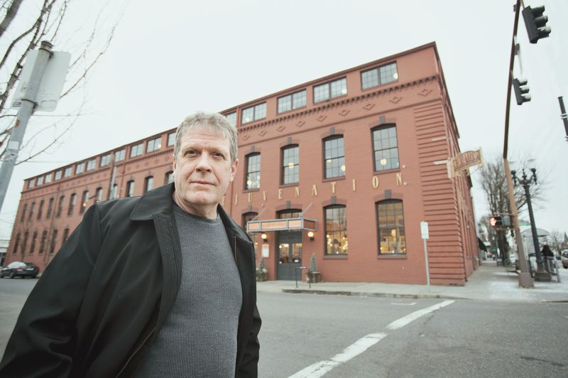 PORTLAND TRIBUNE: JAIME VALDEZ - Rejuvenation Hardware founder Jim Kelly spent more than $1 million to upgrade the company's iconic headquarters to withstand an earthquake in the early 1990s. But the city still considers it an unreinforced masonry building that requires an earthquake warning sign.