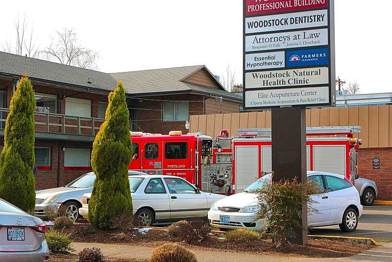 DAVID F. ASHTON - When the X-Ray machine smoking, the dental clinic staff acted quickly and appropriately, Woodstock firefighters say - and prevented a fire.