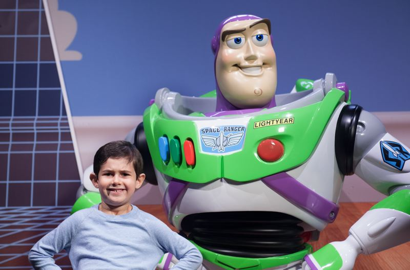 COURTESY: OMSI - The 'The Science Behind Pixar' exhibit will include many interactive stations that feature the likes of characters such as Buzz Lightyear from 'Toy Story.'